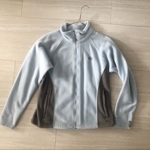 North Face Jacket in baby blue